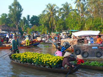 FLOATING MARKET AND HOMESTAY 2 DAYS